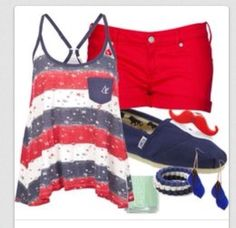 Forth of July outfit idea 1