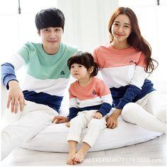 sale Children 2017 Hitz mother daughter family Korean long sleeved suit on behalf of a free spot #Affiliate