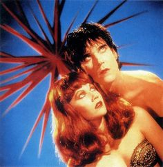 Poison Ivy and Lux Interior (The Cramps)
