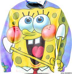 Tumblr  sexy-sweaters.com  Spongebob Squarepants  RP by http://splashtablet.com  The waterproof, suction-mount iPad case. for bath & kitchen. On Amazon.