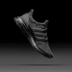 0a71d020f Adidas UltraBoost 4.0 Triple Black Black Adidas Shoes, Black Shoes, Sports  Footwear, Sports
