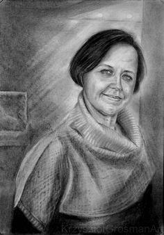 Mirka. Portrait of my wife.