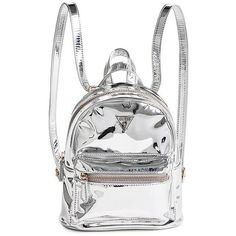 Felicity Mini Backpack (22.715 HUF) ❤ liked on Polyvore featuring bags, backpacks, white mini backpack, day pack rucksack, mini backpacks, rucksack bags and white mini bag