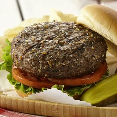 Give burgers bold and zesty flavor for National Burger Month with a spicy Montreal steak seasoning.