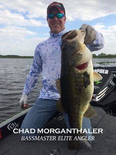 Chad Morganthaler is a current Amphibia Pro Staff member and also a Bassmaster Elite Series angler #AmphibiaProStaff