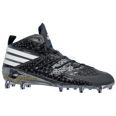NEW Adidas Freak X Kevlar Mid Mens Football Cleats : Black : Size 10