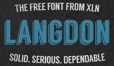 Langdon Font - FREE DOWNLOAD
