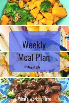 My son is heading back to school this week which means we're getting back into crazy practice schedule season. See how I meal plan around the craziness and what is on this week's menu. Weekly Menu Planning, Meal Planning Printable, Beachbody Meal Plan, Portion Control, Nutrition Program, Meals For The Week, Family Meals, Food Videos, Schedule