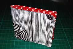 How to sew a wallet tutorial