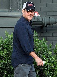 Matt Damon -- All around good sport!