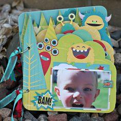 Our Lil' Monster Mini by Rhonda Van Ginkel - Scrapbook.com