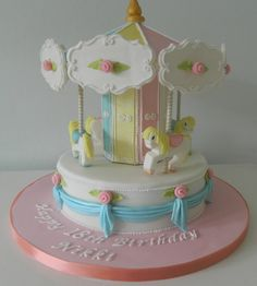 Carousel - by IceIceTracey @ CakesDecor.com - cake decorating website