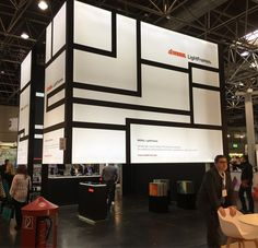 #Modullightframes created a stunning booth using their profiles #Euroshop