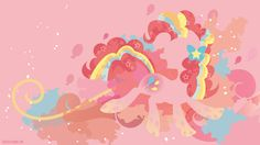 Rainbow Power Pinkie Pie Silhouette Wall by SpaceKitty on DeviantArt