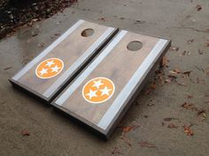 Tennessee Tristar Cornhole Boards by PitchingNGrinning on Etsy