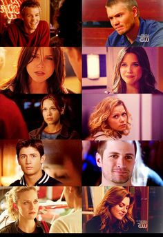 Season 1-9 main characters