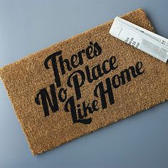 'No Place Like Home' Doormat - interior accessories