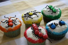 bug cupcakes that even I could make!