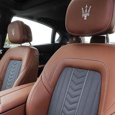 The #Trident lies on only the best quality leather for the best quality drive! #QuattroporteGTS earnhardtmaserati.com