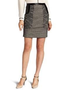Tracy Reese Women's Combo Skirt, Black, 2 Tracy Reese,http://www.amazon.com/dp/B0092PKRUM/ref=cm_sw_r_pi_dp_icSzsb1WRCFEXXPV