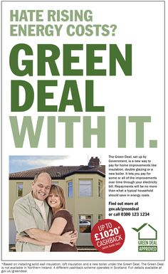 The Green Deal: Emerging solution to long-term energy efficiency