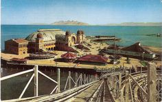 CAFETERIA SALT LAKE CITY 1950'S | Saltair - View from the