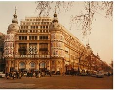 In 1965, Printemps celebrates its century-old.