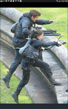 Filming mockingjay