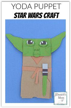 Yoda Puppet Star Wars Craft-