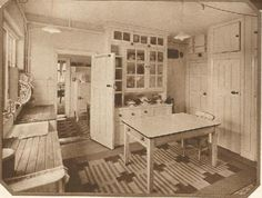1940s kitchen - lots more pics and advertisements from all eras on this blog