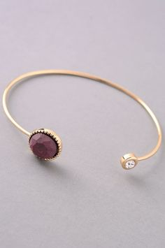 Give us all the (arm) candy! This is an amazing layering bangle to pair with your watch and a handful of your other favorite bracelets. We all know accessories can make the outfit!