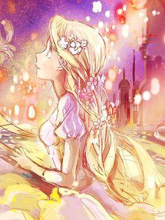 "utadasam72: Rapunzel ( Tangled ) By:""Fly"""