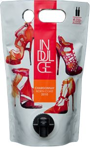 Indulge Wines 2010 North Coast Chardonnay in the Astrapouch - The Green, Low-Carbon, Eco-Friendly Packaging Alternative