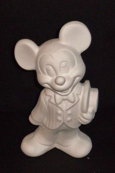 Ceramic Mickey Mouse unpainted