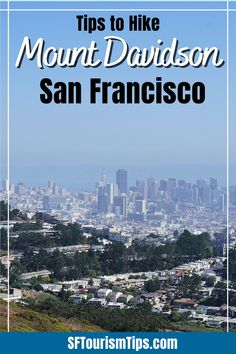 Planning to go hiking in San Francisco? Check out my guide which offers you everything you need to know to hike Mount Davidson, which is SF's tallest peak! You can also visit its huge concrete cross near the top and learn more about its history. San Francisco With Kids, Go Hiking, Free Things To Do, Wine Country, Northern California, Best Hotels, Concrete, Activities, How To Plan