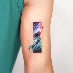 The Little Mermaid🧜♀️. Korean Tattoos, Mermaid Shell, Future Tattoos, Tattoo Studio, The Little Mermaid, Watercolor Tattoo, Ink, Instagram Posts, Tattoo Art