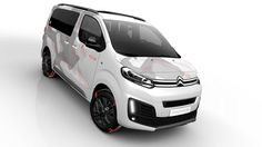 Meet Citroen SpaceTourer Concept - A 4x4 Minivan In Geneva The Geneva Motor Show will host the C-Aircross concept as well as the Citroen Spacetourer 4×4 Ë Concept from the French car maker. This SpaceTourer concept is half minivan and half crossover. It is perfectly designed for active families and it has got a high ground clearance, 60 mm (2.3...