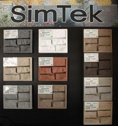 Inside The Simtek Rock Composite Fence With Steel Lifetime