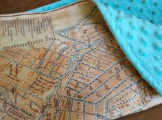 World map minky blanket double sided minky baby cuddle blanky amsterdam map blanket netherlands baby minky security blankie small travel blanky lovie lovey woobie 14 by 17 inches gumiabroncs Images