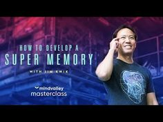 Unleash your brain from all limitations & develop a super memory in just 30 days with Hollywood memory coach, Jim Kwik. Enroll in Jim Kwik's Superbrain Quest. Master Class, Singularity University, Brain Memory, Speed Reading, Learning Techniques, Learn Faster, Write It Down, Ted Talks, Peace Of Mind