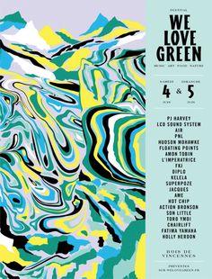 Leslie David, We Love Green, 2016 •