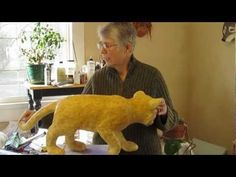 ▶ How to Make a Paper Mache Cat, Lesson #1 - YouTube