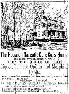A lot of men came back from the Civil War addicted to morphine and alcohol.  Many were weaned from Opium to Cocaine, which was not considered addictive.