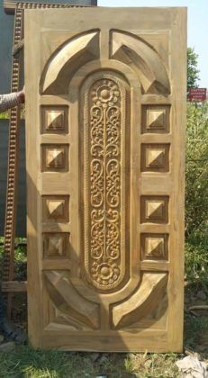 most beautiful door design images gallery for your home Single Door Design, Wooden Front Door Design, Wooden Front Doors, Door Design Interior, Window Design, Latest Door Designs, Door Design Images, Banquette, Decoration