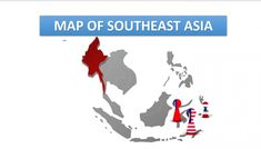Free South East Asia Map Template East Asia Map, Southeast Asia, Powerpoint 2010, Professional Powerpoint, Color Themes, Vector Graphics, Templates, Free, Stencils
