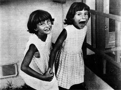 Grace and Virginia Kennedy the girls spoke to each other in a language no one else could understand.  Poto and Cabengo, the names the girls used for each other