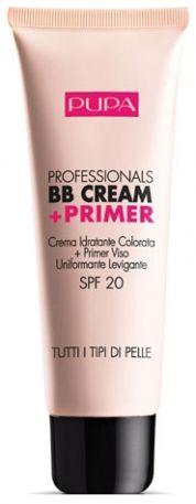 Pupa Milano Professional BB Cream + Primer.  the best makeup ever.