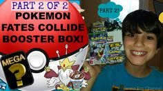 #VIDEO: #Pokemon XY Fates Collide Booster Box Opening: Part 2 of 2 - GREAT PULLS! Jenna Em Channel  WATCH: https://youtu.be/w6vwsLm1VzM