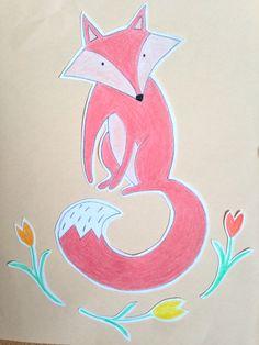 Pink fox @floortinga