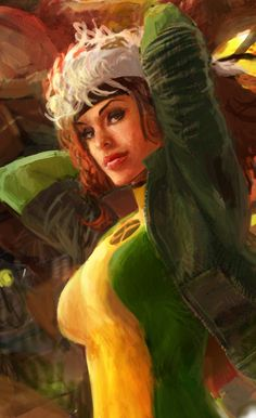 Rogue made to look a little more like Anna Paquin